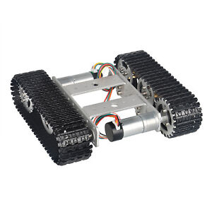 Tracked Robot Smart Car Platform For Arduino Diy Dual Dc 9v Motor