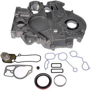 Dorman 635 115 Timing Cover 1 piece Aluminum Natural Ford 7 3l Diesel Each