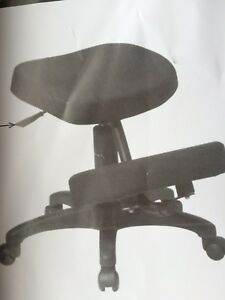Work Smart Ergonomic Knee Chair Never Used black Item kcm1425