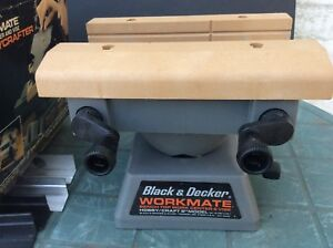 Black and Decker Workmate Bench Top Work Center and Vise