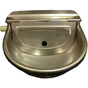 Automatic Farm Watering Supplies Grade Stainless Stock Waterer Horse Cattle Goat