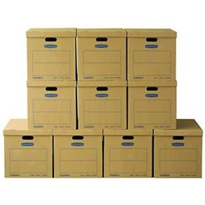 Smoothmove Classic Storage File Boxes Moving Boxes Tape free Assembly Easy 21