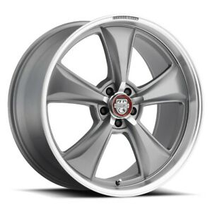Centerline 635ma Rim 17x8 5x4 5 Offset 0 Satin Anthracite Grey mach qty Of 4