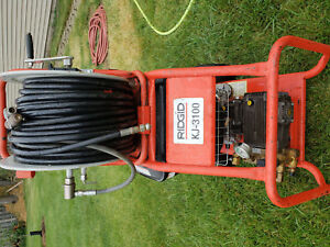 Ridgid Kj 3100 Water Jetter With Pulse