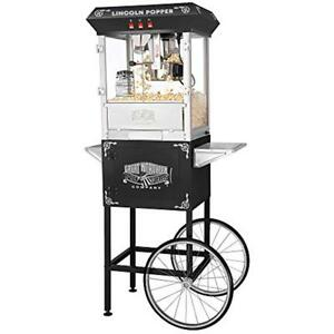Great Northern Popcorn 6005 Lincoln Full Popper Antique Style Machine Complete
