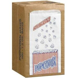 Great Northern Popcorn Company 1 1 2 ounce Duro Bag Bags Case Of 500