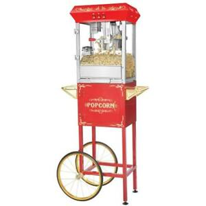 Great Northern Popcorn 6097 8 Oz Foundation Red Full Antique Style Popper With