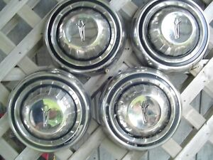 Vintage Plymouth Dodge Chrysler Police Dogdish Hubcaps Wheel Covers Charger Rims