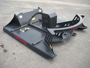 Kubota Skid Steer Attachment 72 Direct Drive Brush Cutter Bush Hog Free Ship