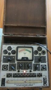 Precision Apparatus Series 912 Electronamic Tube Tester Supplement Data Charts