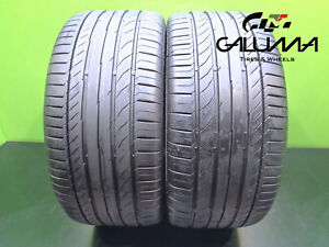 2 Continental 255 40 18 Tires Contisportcontact 5 95y Runflat Technology 46925