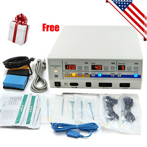 Electrosurgical Unit Diathermy Machine Surgery Cut Electrotome Electrocautery Ce