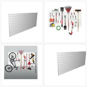 Wall Panel Garage Racks Hook Storage Organizer Shelves Impact Resistant Kit