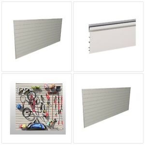 Garage Wall Panel Heavy Duty Slat Organizer Durable Weather Resistant Mounted