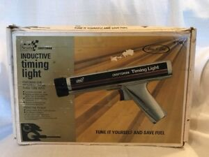 Vintage Chrome Sears craftsman Inductive Timing Light