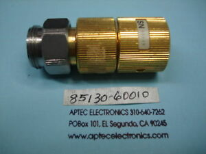 Agilent 85130 60010 2 4mm Female 3 5mm Male Adapter