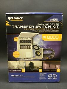 Reliance Back up Power 6 circuit Complete Transfer Switch Kit model 306lrk