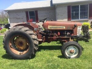 1955 International 350 Utility Farm Tractor