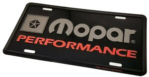 Mopar Performance License Plate 70 S Dodge Plymouth Cuda Challenger Road Runner
