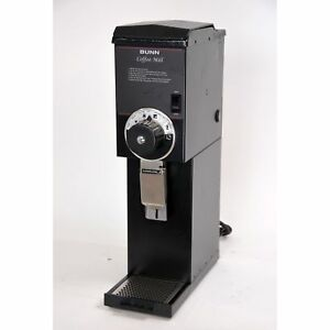 Bunn G3 Hd 3 Lb Bulk Retail Coffee Grinder 22100 0000 Black 120v