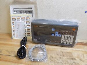 Mitutoyo Digital Readout 2 axis Dro Display Standard Ka Counter 174 183a