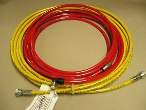 Exitflex Air assisted Airless High P 25 3 16 id Paint Hose 5075 Psi Max