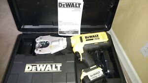 Dewalt Dce350m2 20v Max Dieless Electrical Cable Crimping Tool Kit