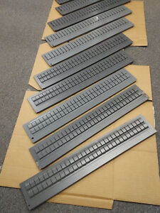 Vidmar Lista Tooling Cabinet Drawer Dividers 25 375x4 375 Full Size Lot Of 10 A