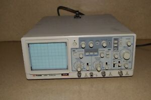 Protek Protech 40mhz Oscilloscope Scope Model 6504 2 Channel 1