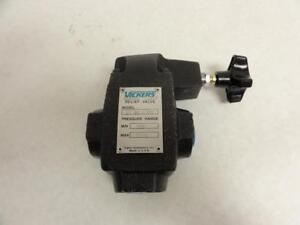 174850 New no Box Vickers 590538 Hydraulic Relief Valve Port Sizes 3 4 Npt