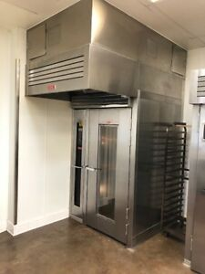 Lbc 2014 Single Gas Roll in Rack Oven Model Lro 1g4 used In Great Condition