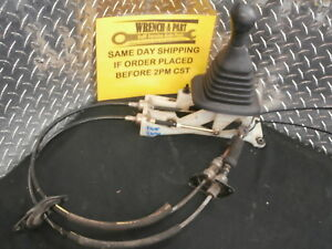 1999 Toyota Rav4 5 Speed Manual Gear Shift Shifter W Cables 7829762 C13
