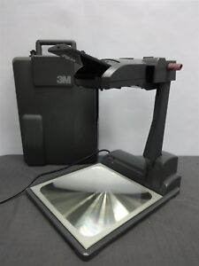 3m Blue 2770 Portable Folding Overhead Projector With Lid