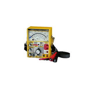 Triplett 2011 Railroad Tester With 100 Hz And 250 Hz Cab Filters