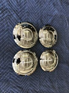 Chevrolet 14 15 Rally Wheel Hub Flat 7 Police Center Cap Set Of 4 Taxi Cab