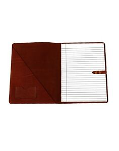 Fionte Top Grain Professional High Quality Luxurious Buffalo Leather Padfolio