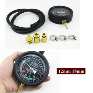 Oxygen Sensor Ports 12mm 18mm Exhaust Back Pressure Tester Diagnostic Tool