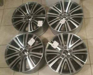 18 Inch 2014 16 Kia Cadenza Oem Factory Original Alloy Wheels Rims