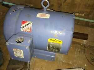 Baldor Electric Motor 10 Hp 3500 Rpm 230 460 Volts 3 Phase