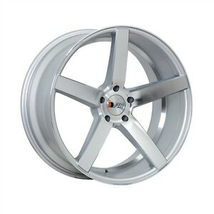 F1rf25 20x8 5 9 5 5x114 3 15 20et Machine Silver Wheels Fit Nissan 350z Nismo