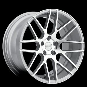 Mrr Gf7 19x8 5 5x114 3 Et35 Machined Silver Wheels Fit Honda Accord Prelude