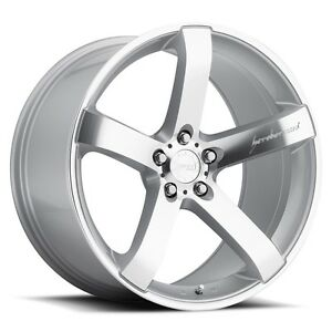 Mrr Vp5 20x9 10 5 5x114 3 Et35 40 Machined Silver Wheels Fit Ford Mustang 2005