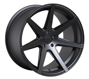 Rohana Rc7 20x9 10 5x114 3 Et32 45 Matte Graphite Wheels Fit Ford Mustang 2005