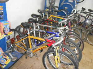 Complete Bicycle Repair Shop Tools Displays Parts New And Used Used Bikes