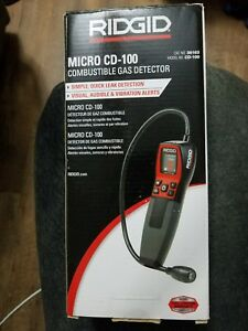Ridgid 36163 Model Micro Cd 100 Combustible Gas Detector Gas Leak Detector