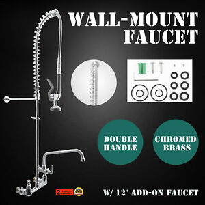 Commercial Kitchen Restaurant Pre rinse Faucet Tap Pre rinse Dishwasher Newest