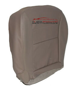 2002 Ford Escape Driver Side Bottom Synthetic Leather Seat Cover Gray