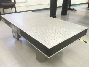 Melles Griot 59 X 29 5 Optical Table Anti Vibration Breadboard With Legs