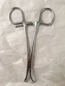 Synthes 398 41 Reduction Forceps With Points Broad Ratchet