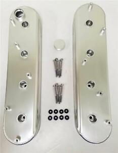 Ls1 Ls2 Fabricated Anodized Aluminum Valve Covers W Coil Mount Stands Ls6 Ls7